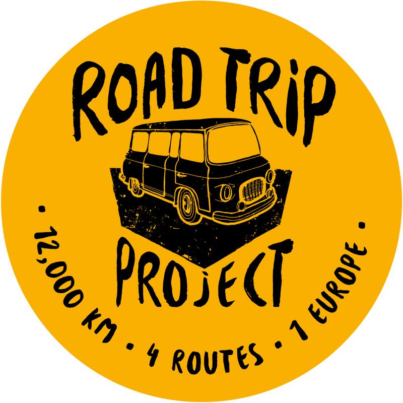 Das Bild zeigt das Road-Trip-Logo